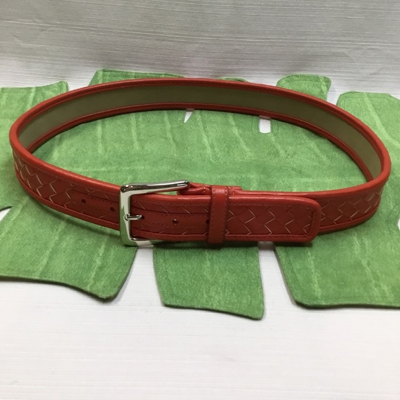 Accessories - Appears to be New Striking Coral Color Belt